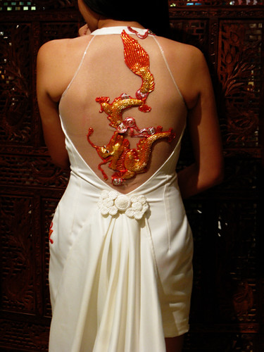 Wedding Cheongsam Gown—for Dawn