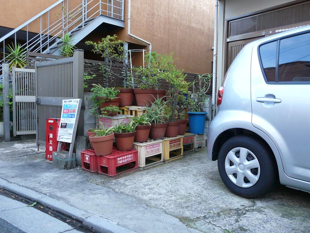 Beer Crate Tiered Garden