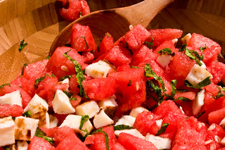 Watermelon and Haloumi, So Happy Together