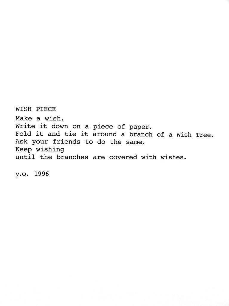 Wish piece