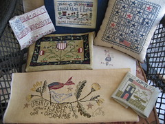 miscpatriotic2 (Deep Fried Cupcake (Andrea)) Tags: liberty crossstitch flag patriotic stitching handwork shepherdsbush birdsofafeather blackbirddesigns patrioticstitching
