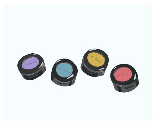 mac eyeshadows 8x10