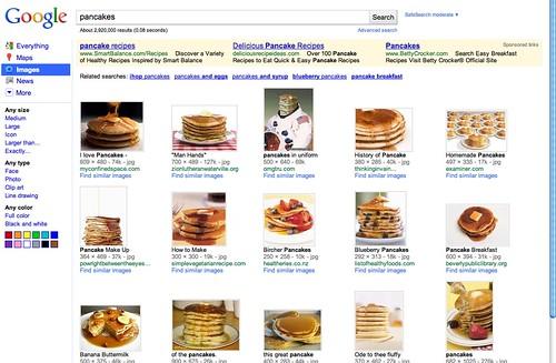 Old Google Images Design