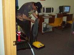 Dan putting up the vacuum (Beacon of Light, Ltd.) Tags: beaconoflight dayhab