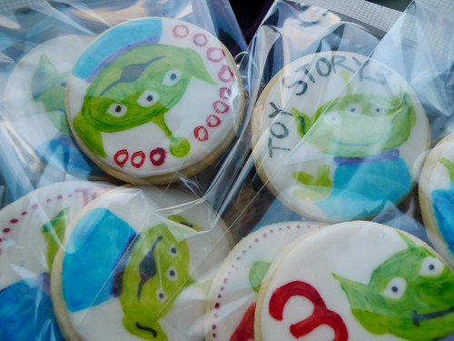 Toy Story 3 Alien cookies
