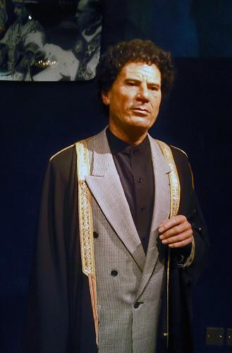 Colonel Gaddafi Waxwork