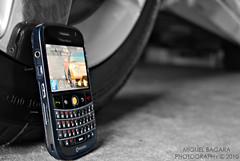 DSC_5156 (mb604) Tags: blackandwhite blackberry smartphone jdm trackball acuransx hondansx nikond60 bold9000 miguelbagara researchandmotion