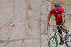 (Armin E(busy)) Tags: life street people bike canon eos iran candid daily iranian isfahan 40d