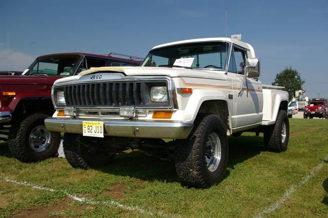 truck jeep pickup j10 fsj jeepexperience sportside