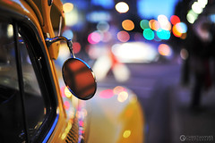 Bokeh Blind Spot Check (christianyves) Tags: street yellow night vancouver fortes photography 50mm nikon downtown open bokeh shots f14 cab 14 wide joe robson afs thurlow f14g d700