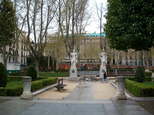 Park Near Palacio Real, Madrid