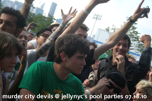 Murder City Devil at JellyNYC Pool Parties
