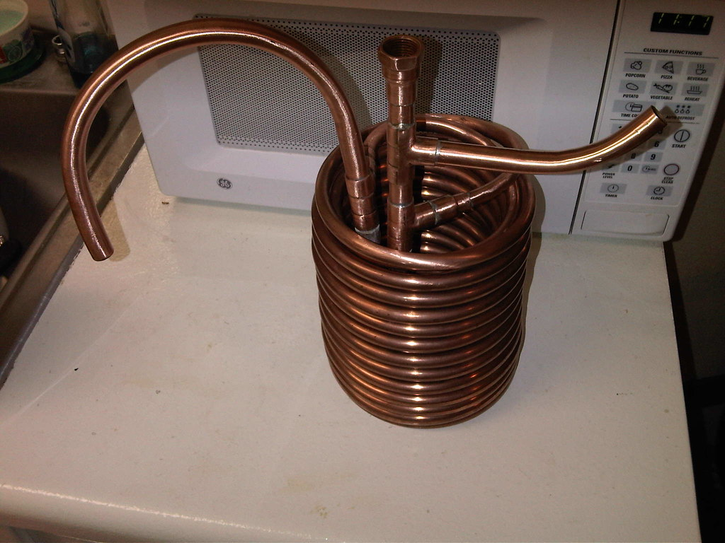 Copper Heat Exchanger Coil