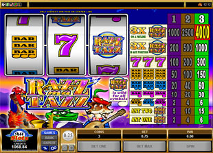 RAZZMATAZZ slot game online review