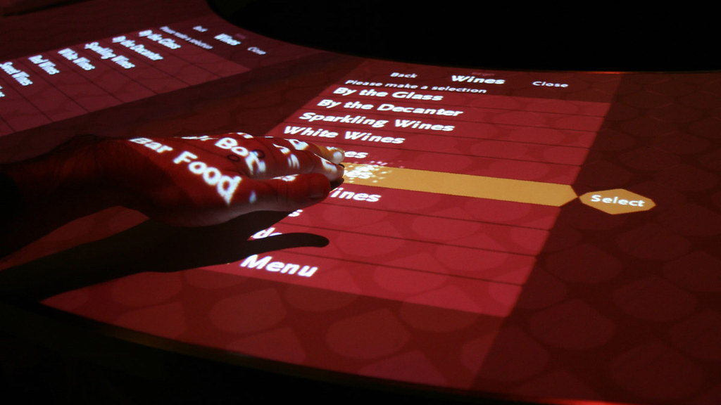 Adour Interactive Bar - designed by Potion