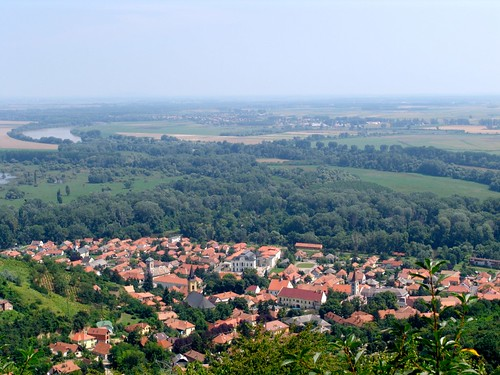 Tokaj from uphill