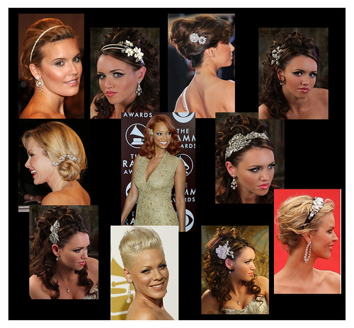 Red Carpet to Aisle: Hair Bling