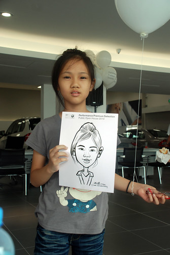 Caricature live sketching for Performance Premium Selection BMW - Day 3 - 15