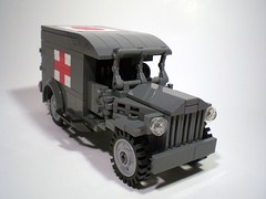 Dodge WC54 Ambulance (PhiMa') Tags: tank lego wwii ambulance ww2 eto worldwar2 allies europeantheatre