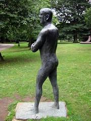 Man (Folded Arms): Elisabeth Frink (Emma Farrer) Tags: uk england sculpture art north galleries artists installation ysp yorkshiresculpturepark elisabethfrink staycation