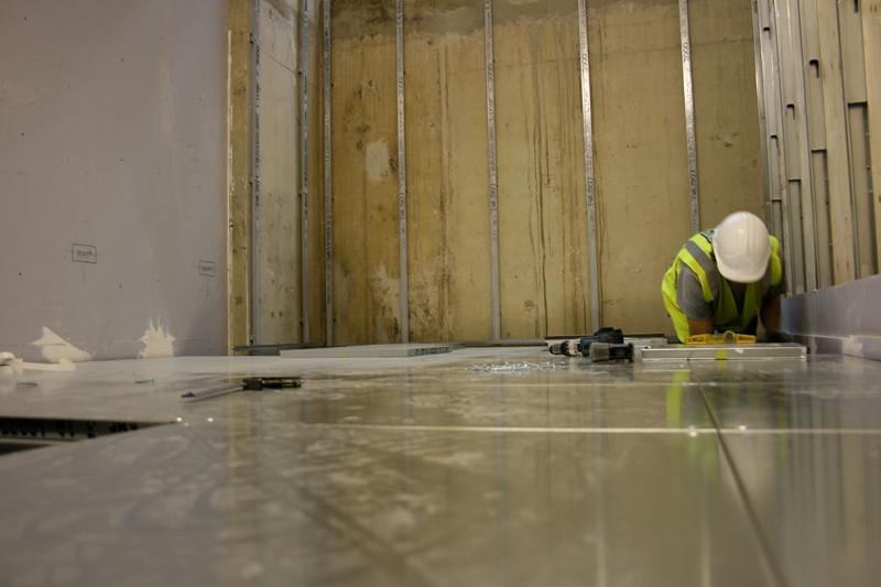 Levelling Floor Panels