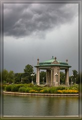 Storm coming ~ Pagoda, Forest Park