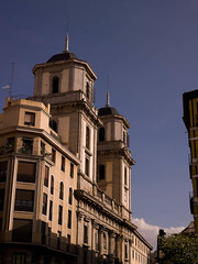 SM700025.jpg (Keith Levit) Tags: madrid windows building tower window stone architecture buildings photography spain europe exterior balcony fineart towers architectural steeple spanish balconies railing railings steeples pinnacles pinnacle exteriors levit stonedesign sidesofbuildings faade stonedesigns keithlevit keithlevitphotography