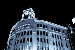 DSC_5873.jpg (ntstnori) Tags: clock architecture tokyo ginza  chuo