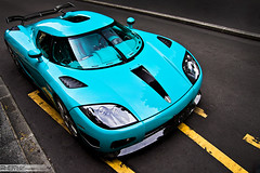 "Koenigsegg CCX-R    ""Special One"" (Murphy Photography) Tags: blue baby paris france color strange canon eos 50mm hotel ana george dubai seasons d turquoise 4 swedish emirates v 17 50 tamron edition luxus supercar koenigsegg arabs althani drem quatar trkies knigsegg ccxr"
