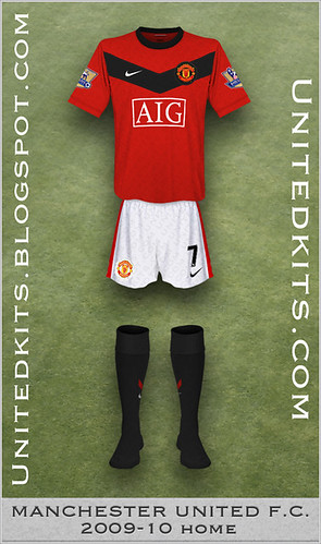 Manchester United 2009-10 Home kit