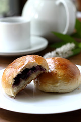 Happy weekend! (..Ania.) Tags: baking blueberries sweetrolls blueberryrolls yeastedsweetrolls sweetyeasteddough