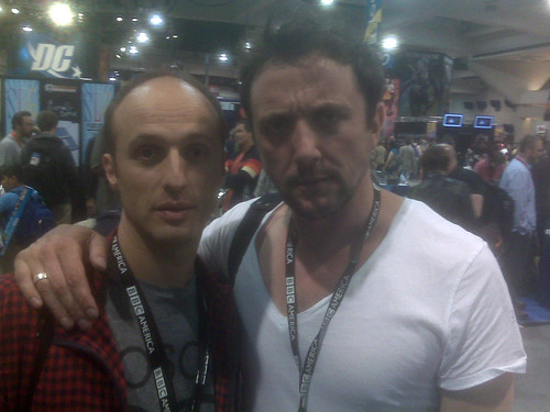Robert Popper & Peter Serafinowicz, Comic-Con 2010