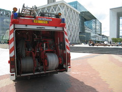Second part is for 2 removable hose cylinders (AlainDurand) Tags: paris trucks ladfense sides fireengines firebrigades bspp brigadedessapeurspompiersdeparis parisfirebrigade alaindurand firefightingandrescuevehicles dutyvehicles sidess150