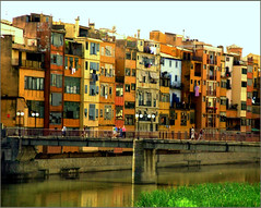 Gerona Spain (lalique7) Tags: buildings spain gerona