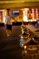 Lantern face (.kim.e.) Tags: night canon 50mm lights colorful asia southeastasia glow floor citadel vietnam lanterns imperial hue mats 2010 imperialcity 450d huefestival