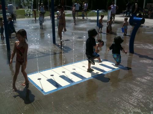 Splash Pad 7-23-10