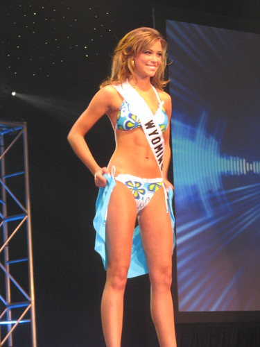 Miss Teen USA 2010 Contestants Swimsuit Presentation Show