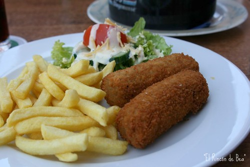 Croquetones y frites!!