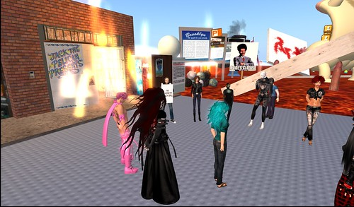 Artists' meeting, Push sim, July 24, 2010