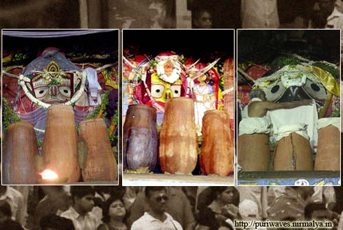 Adhara Pana Of Lord Jagananth On Chariot