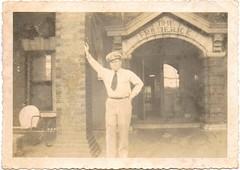 Sid (Wilson?) at 400 Whitehall (Valerie's Genealogy Photos) Tags: old atlanta hotel familyhistory genealogy familyphotos oldphotos oldfamilyphotos thefrederick 400whitehall