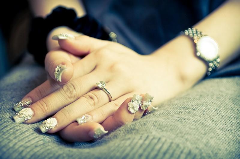 Raymond Phang - Diamond engagement ring
