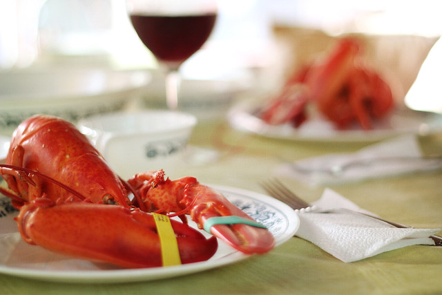 Lobster with the whole family, it doesn't get much better than that!