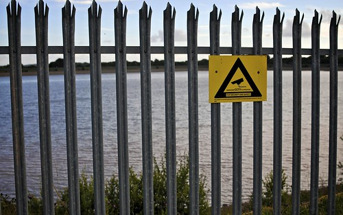 CCTV Warning At Llanishen Reservoir