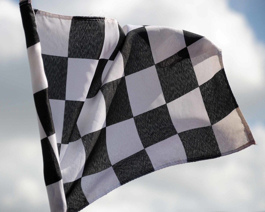 DSC 0352  Checkered Flag at the Indy