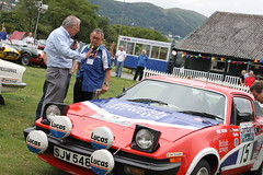 Triumph TR Day - 03 - TR7 - Simo Lampinen (Rally Pix) Tags: cars 40th anniversary triumph works register simo tr tr7 lampinen