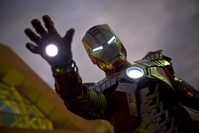 Comic-Con '10 – Ironman // Mark V