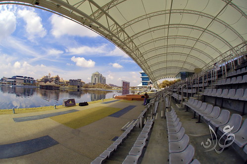 Grandstand at Putrajaya Lake