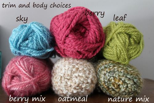yarn trim and body choices2 by you.