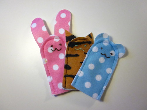 My handmade finger puppets - the pattern collection.